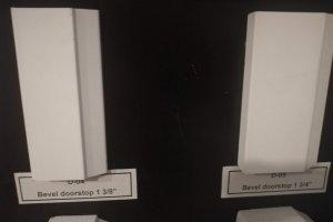 Bevel Door Stop 1.375 and 1.75inch